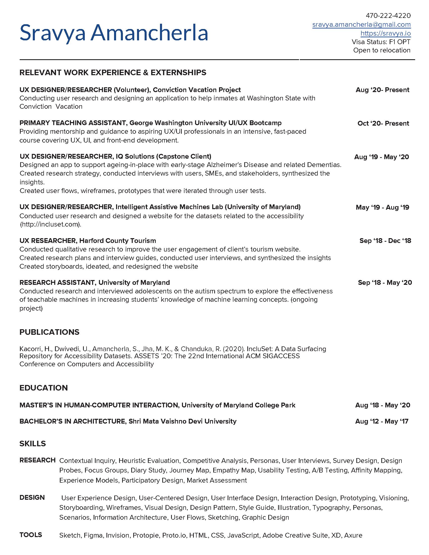 Web_Resume_SA